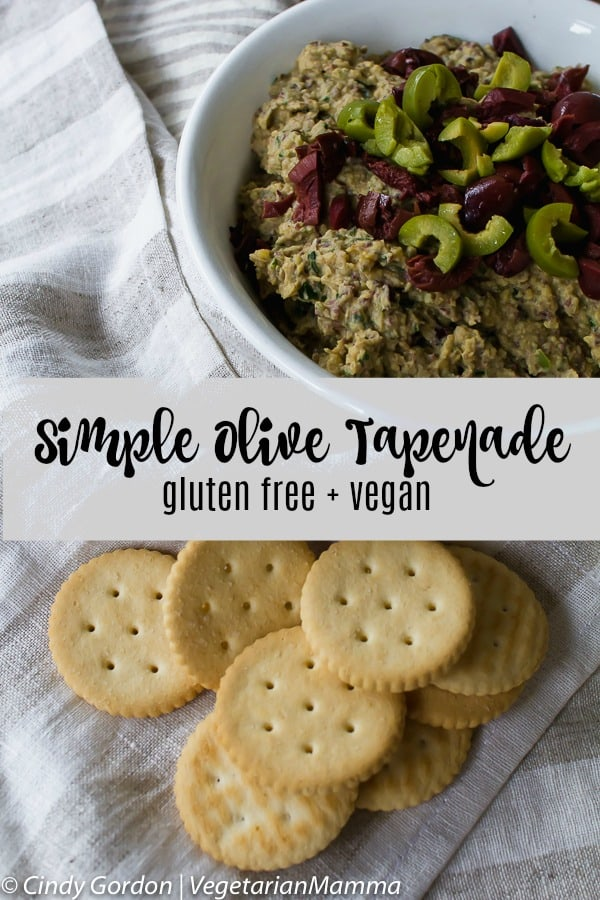 Simple Olive Tapenade Recipe