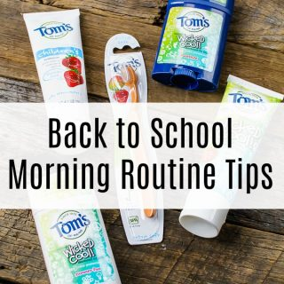 Back-to-School Morning Routine Tips