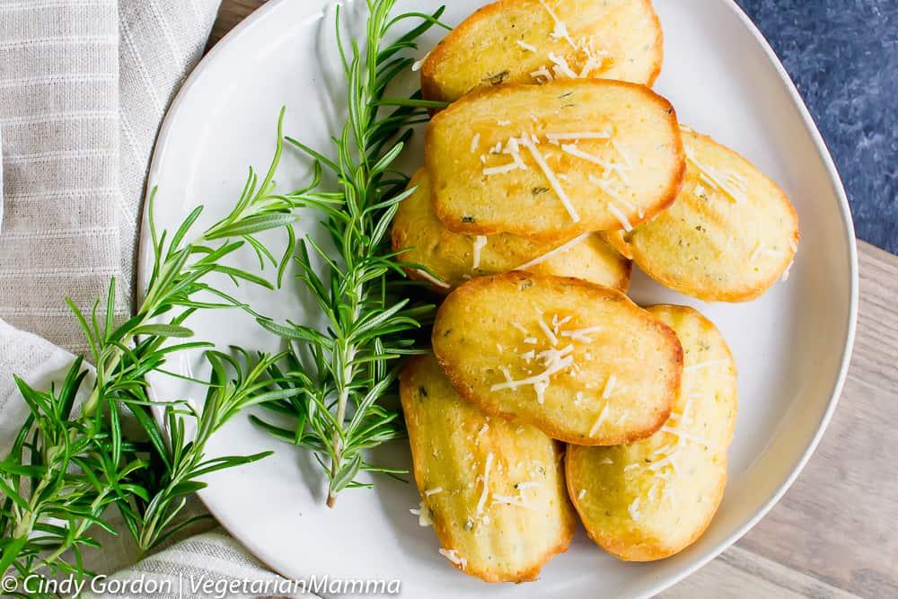 Gluten Free Madeleines are delicious