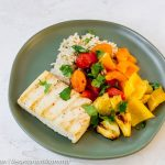 Healthier Grilled Sweet and Sour Tofu with Vegetables