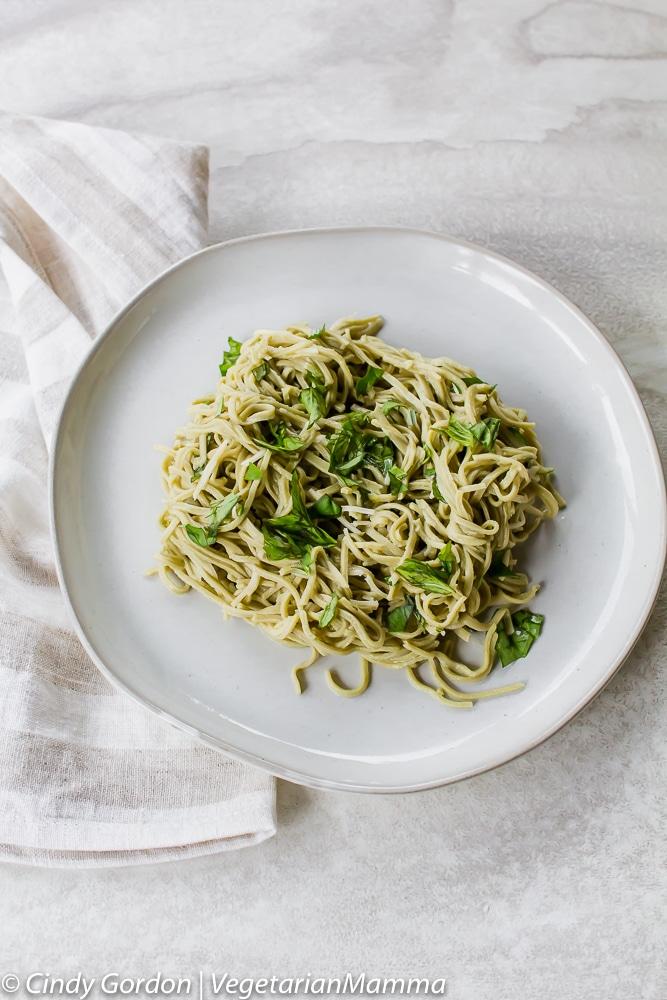 Gluten free Herbed Lemon Pasta