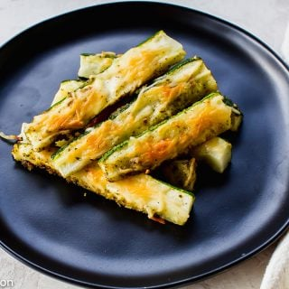 Parmesan Zucchini Fries are a delicious snack.