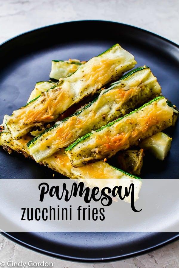 Parmesan Zucchini Fries pin