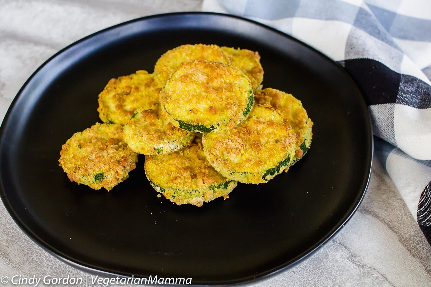 Air Fryer Zucchini Coins are a great way to use garden zucchini.