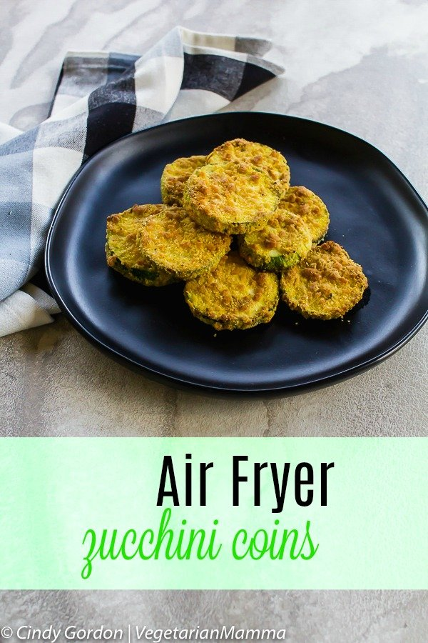 Air Fryer Zucchini Coins pin