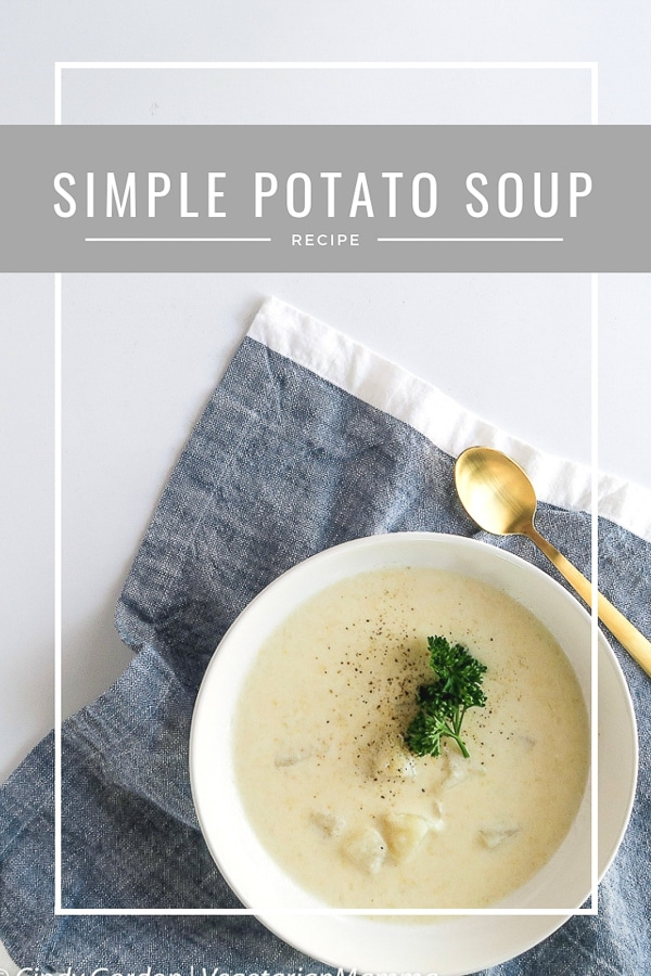Simple Potato Soup - A Rustic Potato Soup