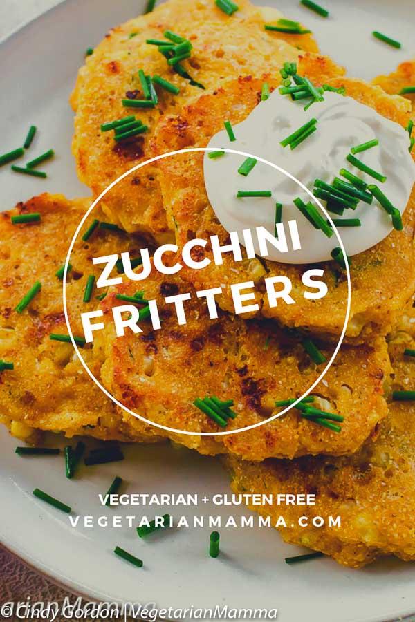 gluten free zucchini corn fritters