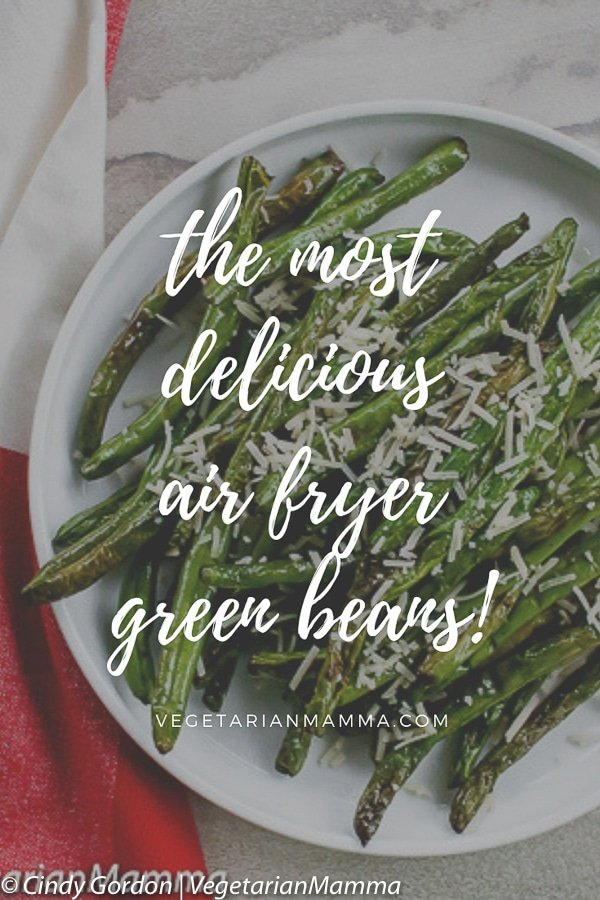 Air Fryer Green Beans will be the perfect addition to your grow collection of delicious air fryer recipes! If you love green beans, this is a quick and tasty way to make them!
