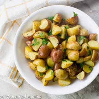 Air Fryer Roasted Potatoes is an easy air fryer recipe.