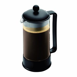 Bodum Brazil French Press Coffee Maker, 34 Ounce, 1 Liter, (8 Cup), Black