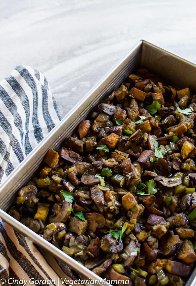 Gluten-Free Mushroom Stuffing