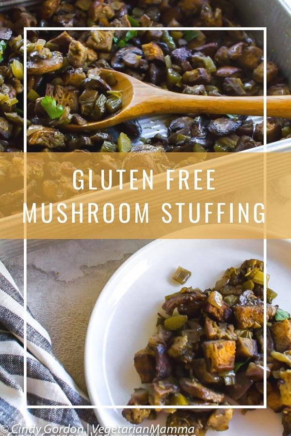 Gluten Free Mushroom Stuffing pin