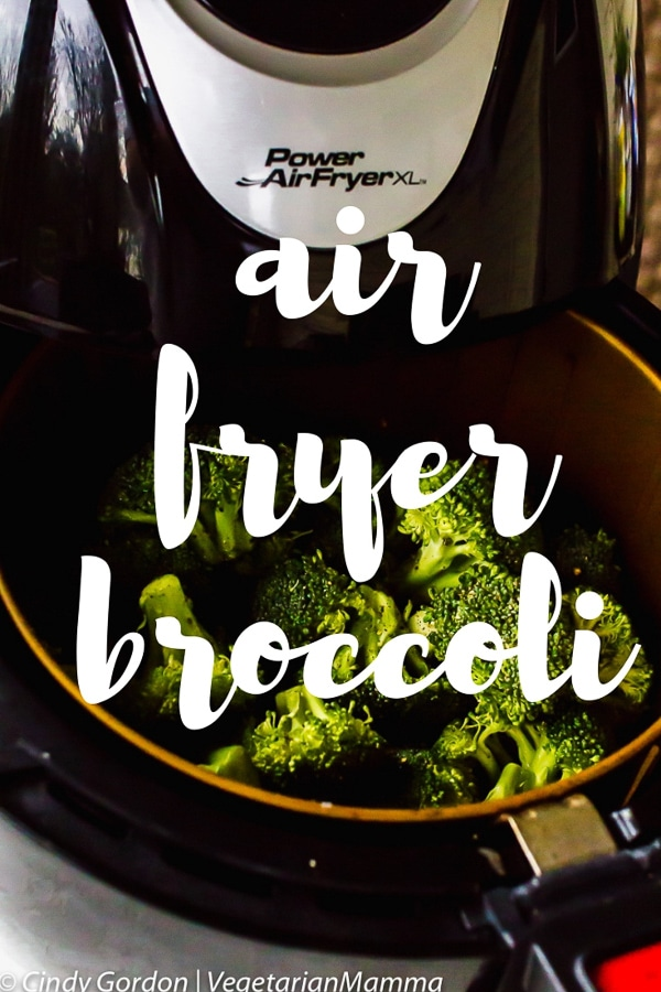 Air Fryer Broccoli - A delicious vegan air fryer recipe