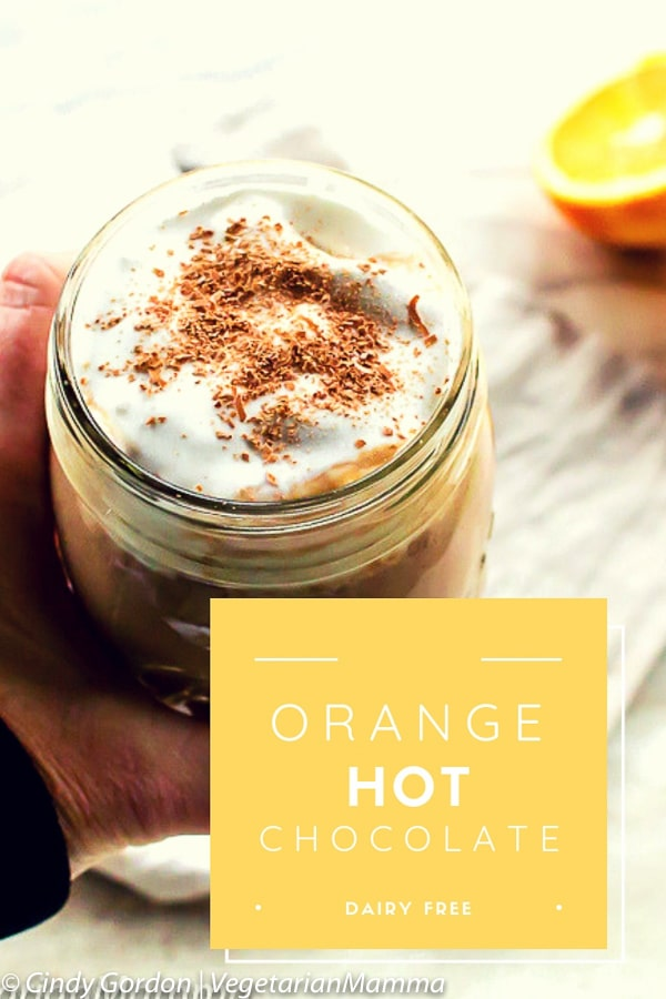 Orange Hot Chocolate Pin