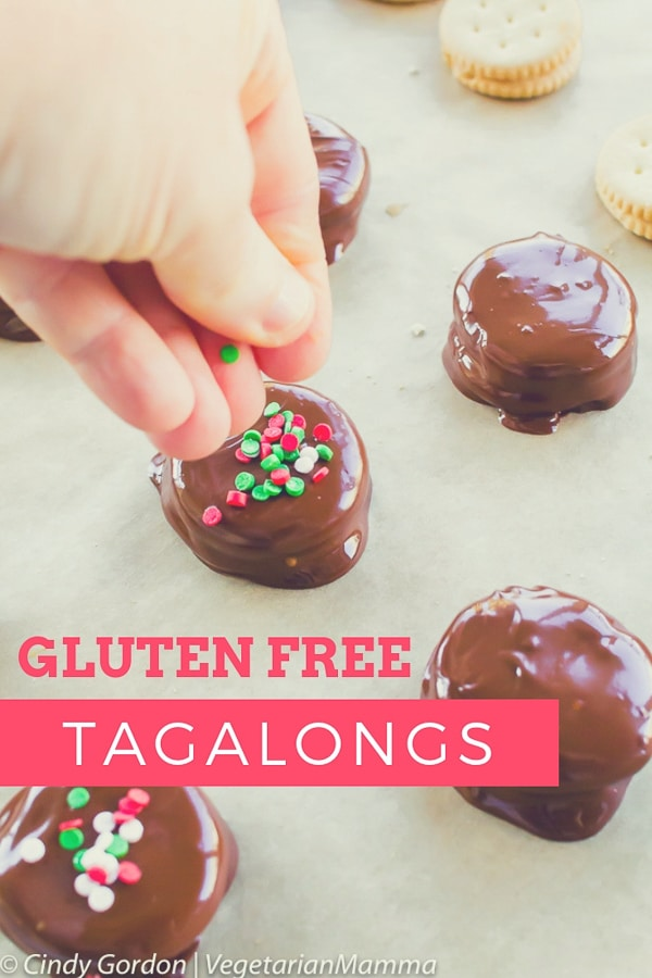 Homemade Gluten Free Tagalong Cookies