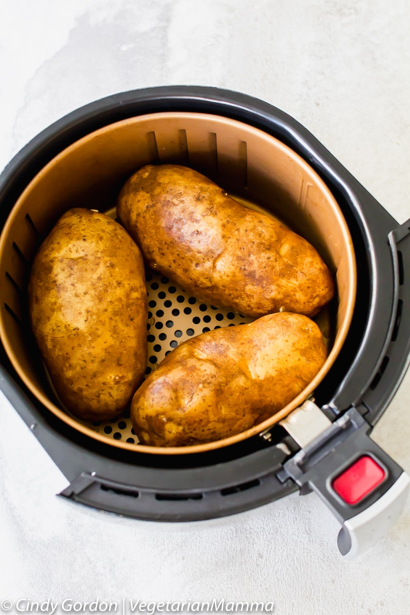 Air Fryer Baked Potatoes an easy air fryer recipes