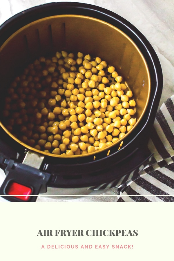 Air Fryer Chickpeas - air fried snacks