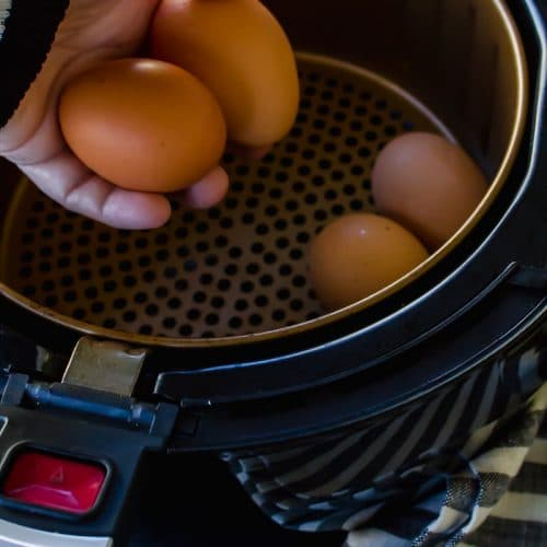 Air Fryer Eggs - Air Fried Hard Boiled Eggs