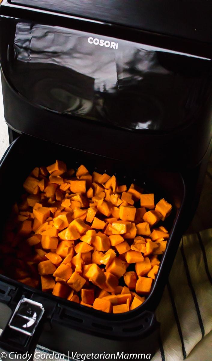 sweet potatoes in a Cosori Air Fryer