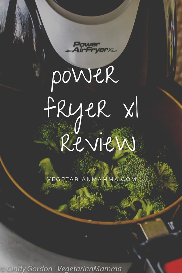 Power Air Fryer XL Review pin