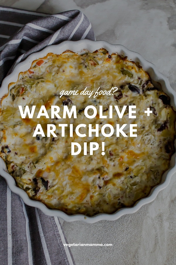Warm Olive and Artichoke Dip