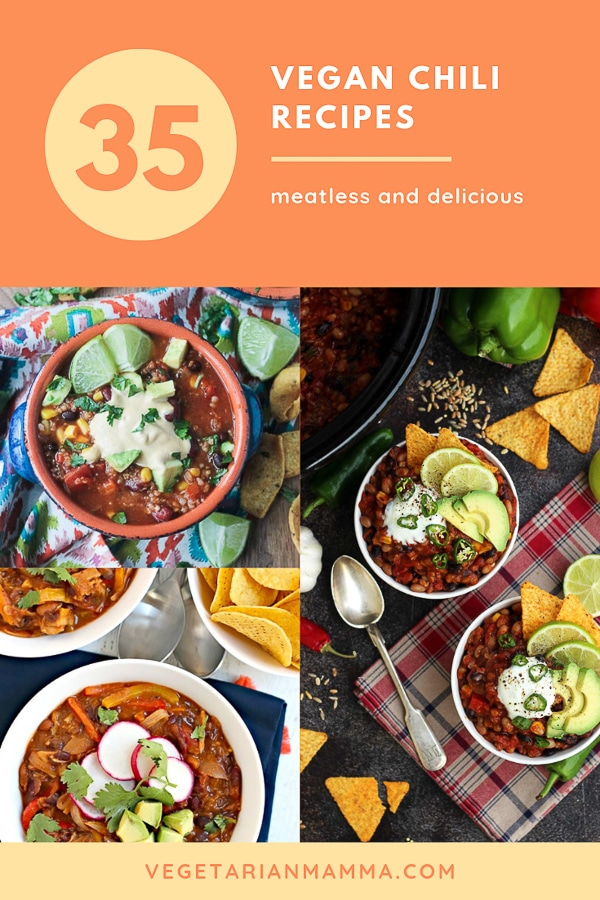 35 Vegan Chili Recipes