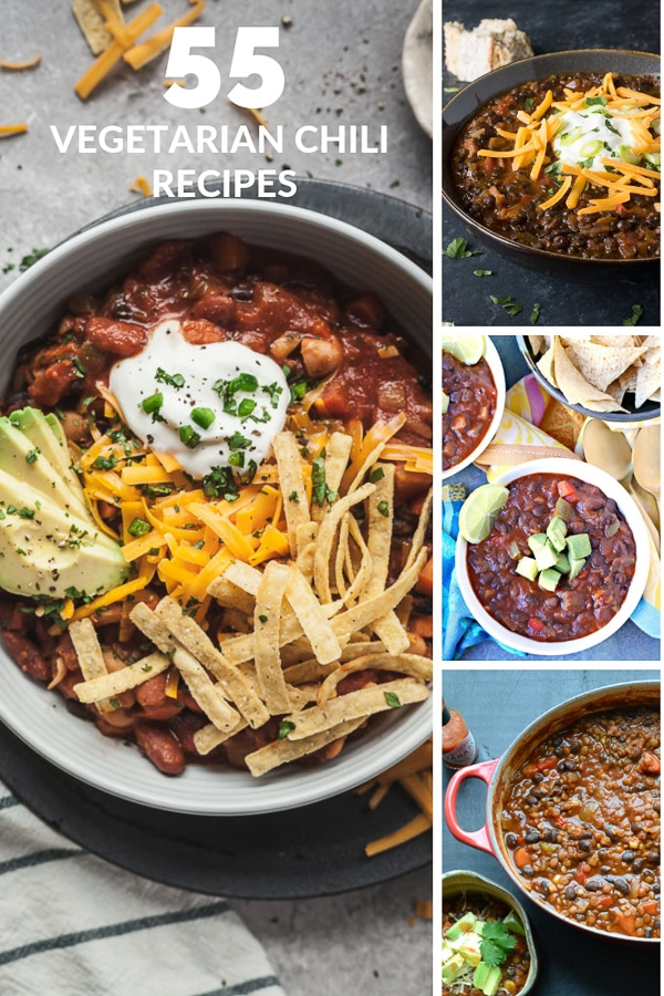 55 Vegetarian Chili Recipes