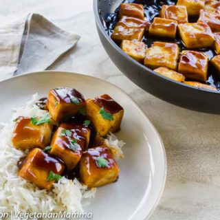 Brown Sugar and Balsamic Tofu