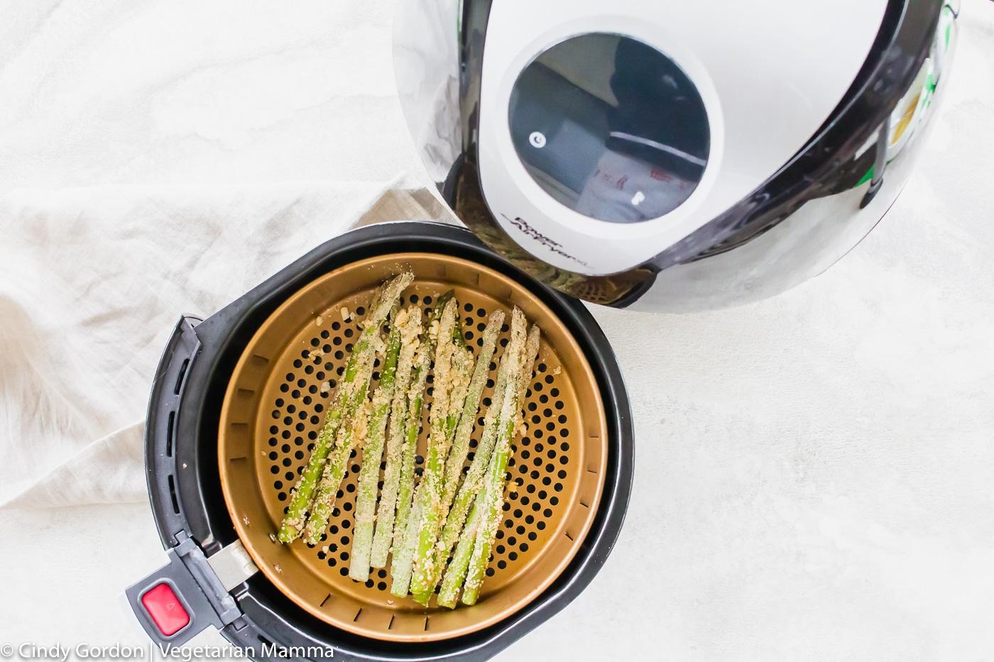 Crispy Asparagus in Air Fryer