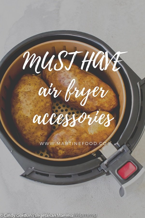 graphic talking about Must Have Air Fryer Accessories