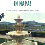 What To Do in Napa – Gluten Free Ideas