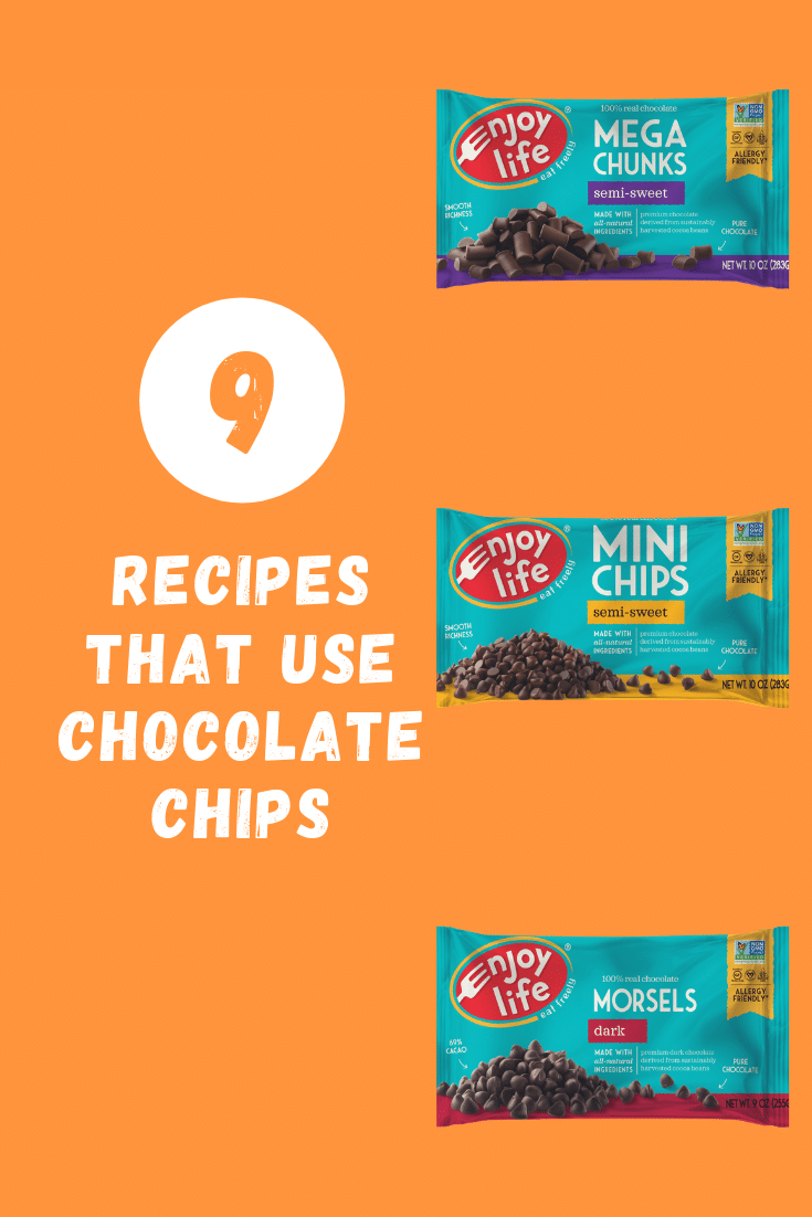 recipes that use chocolate chips graphic