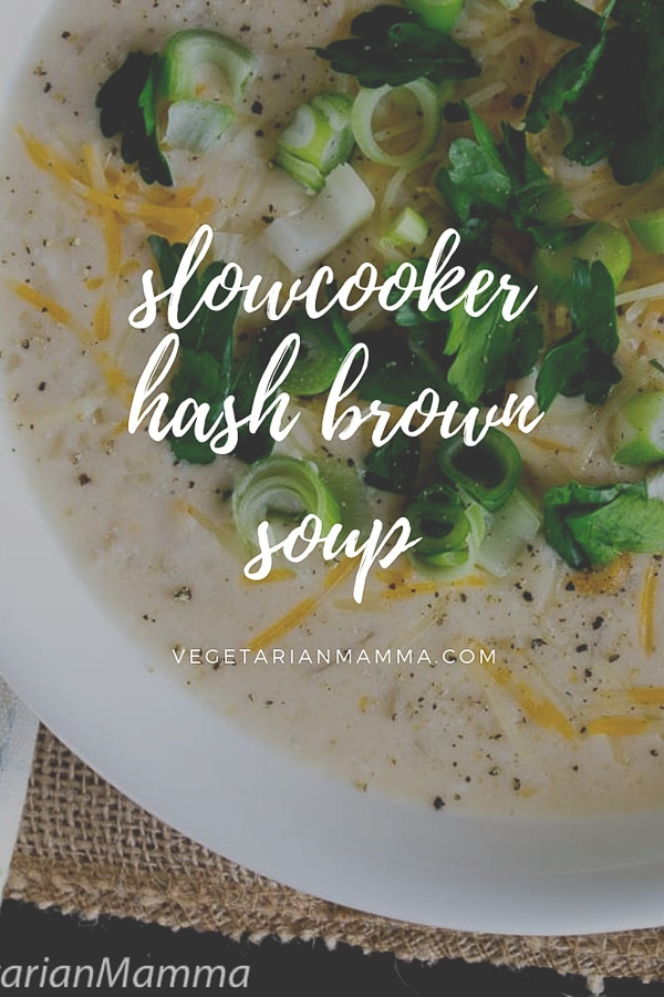 Slowcooker Hashbrown Soup