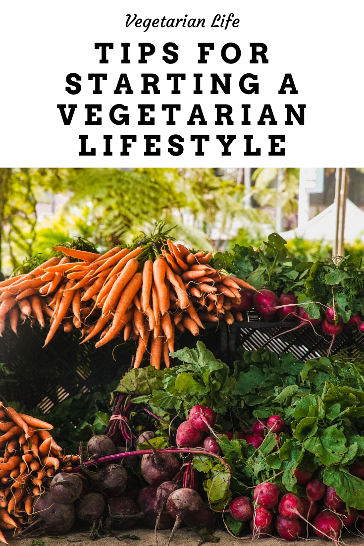 Tips for starting a vegetarian lifestyle