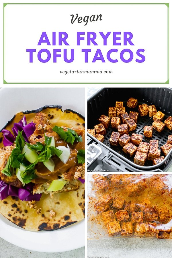 Air Fryer Tofu Taco pin