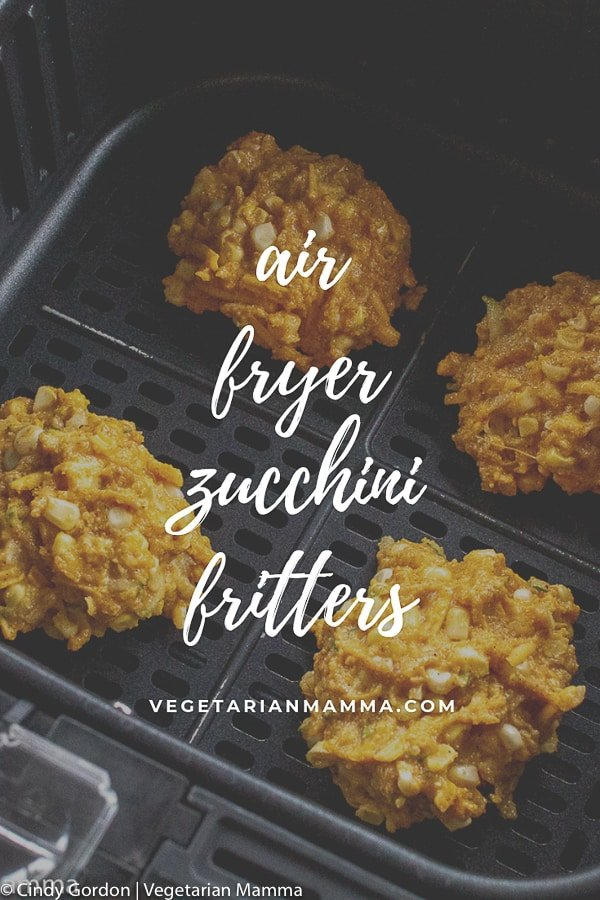 Air Fryer Zucchini Fritters pin