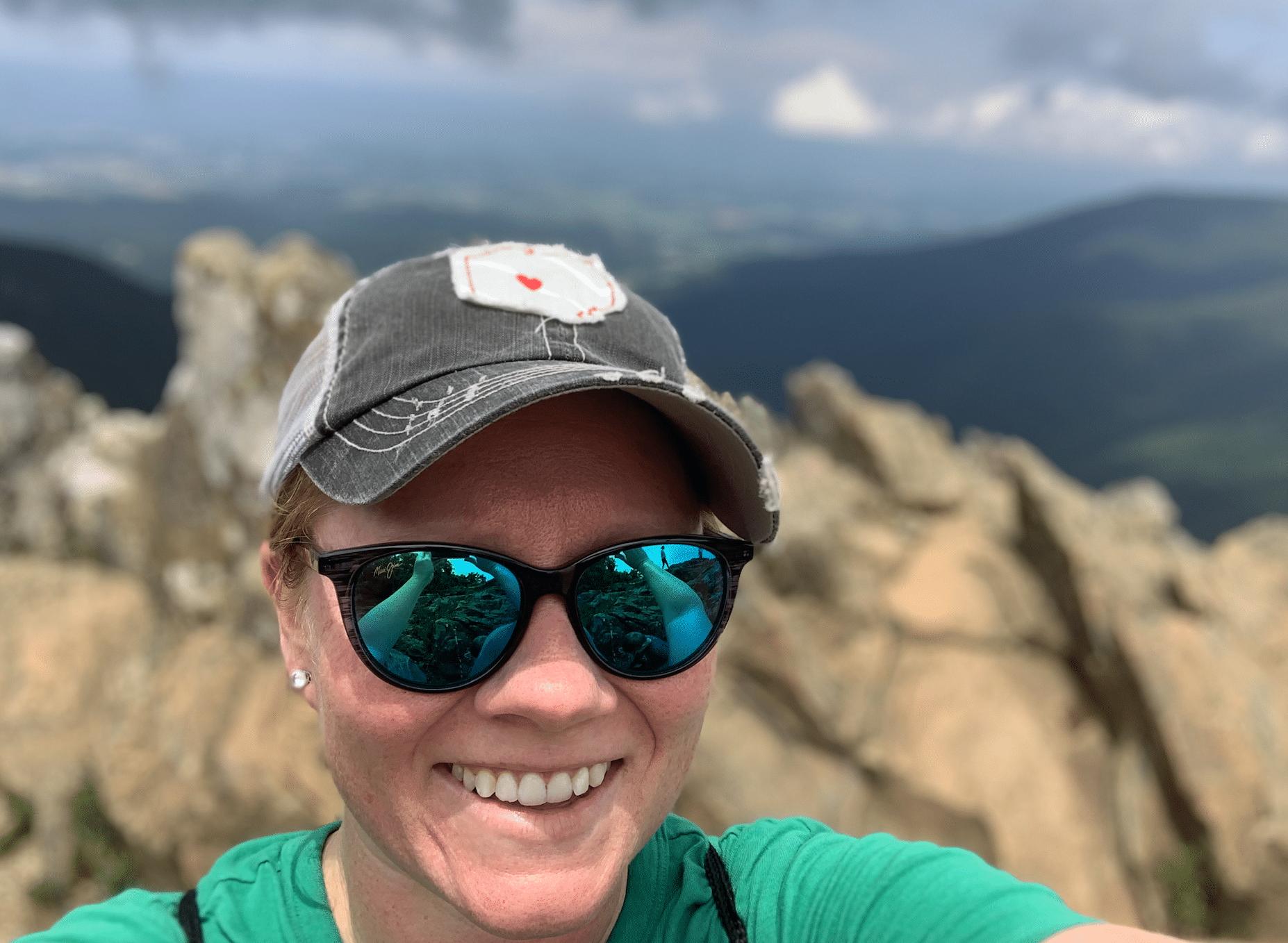 Cindy Gordon in Shenandoah National Park