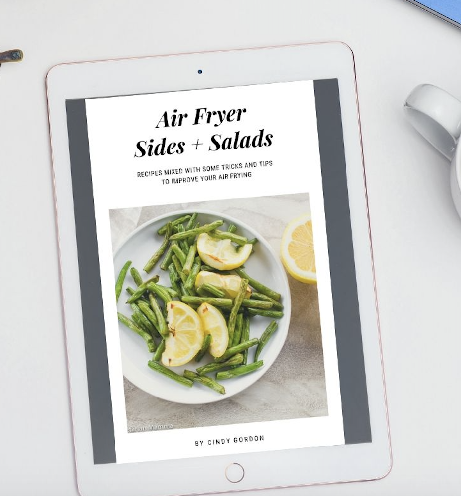 Air Fryer Sides and Salads ebook