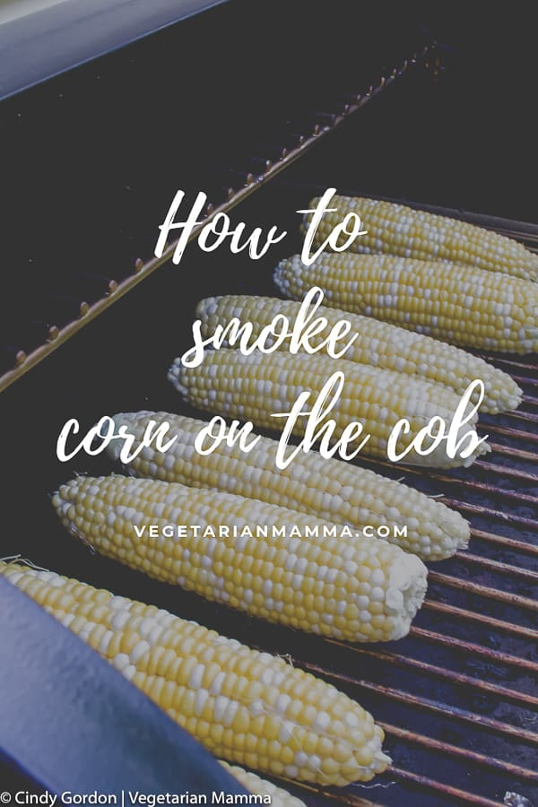 pin for how to smoke corn on the cob