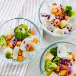 Sweet Potato Tofu Bowl – featuring the EZ Tofu Press