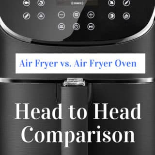 air fryer oven vs air fryer head to head comparison