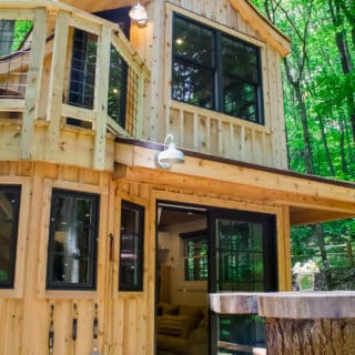 Hocking Hills Treehouse Cabins The Beech