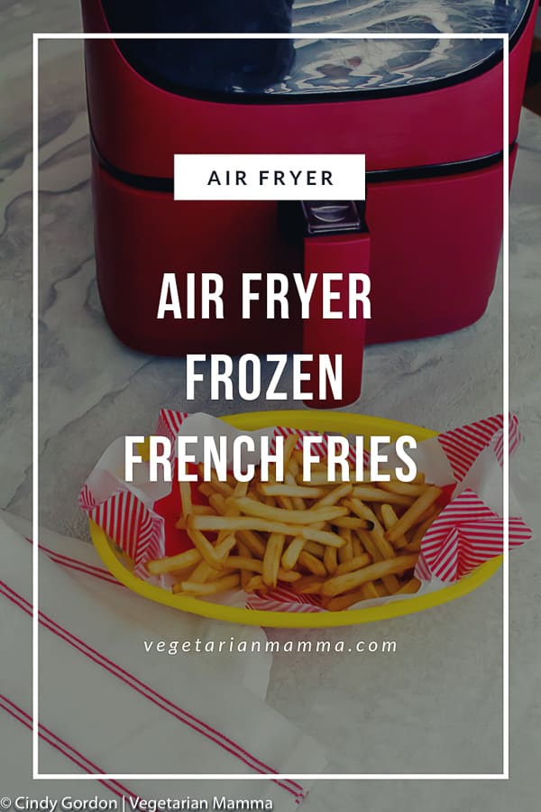 Air Fryer Frozen French Fries pin