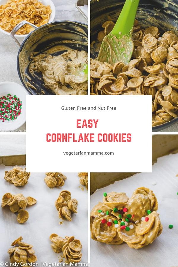 Cornflake cookies