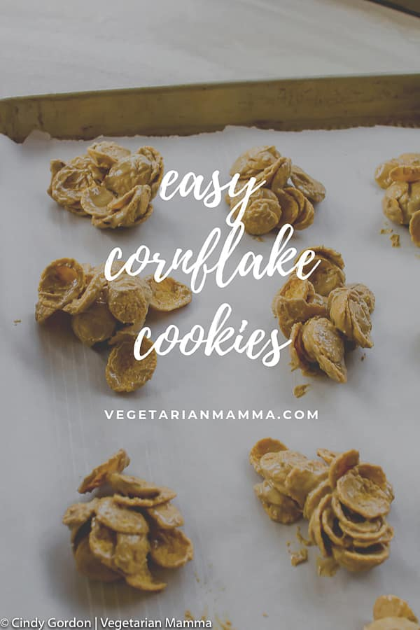 Easy No Bake Cornflake cookies