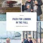 London Packing List – for the fall