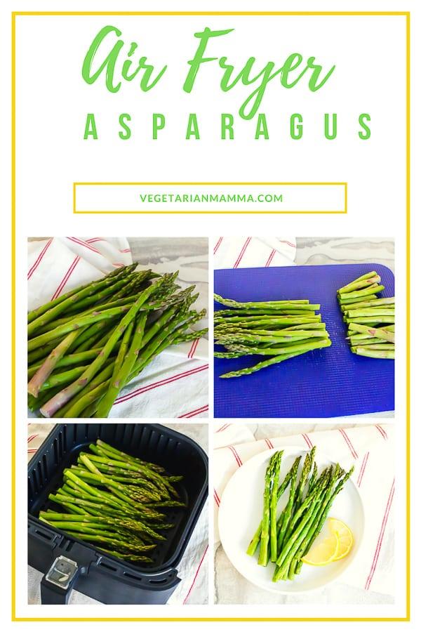 Air Fryer Asparagus Pin