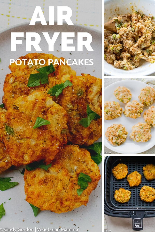 Air Fryer Potato Pancake pin