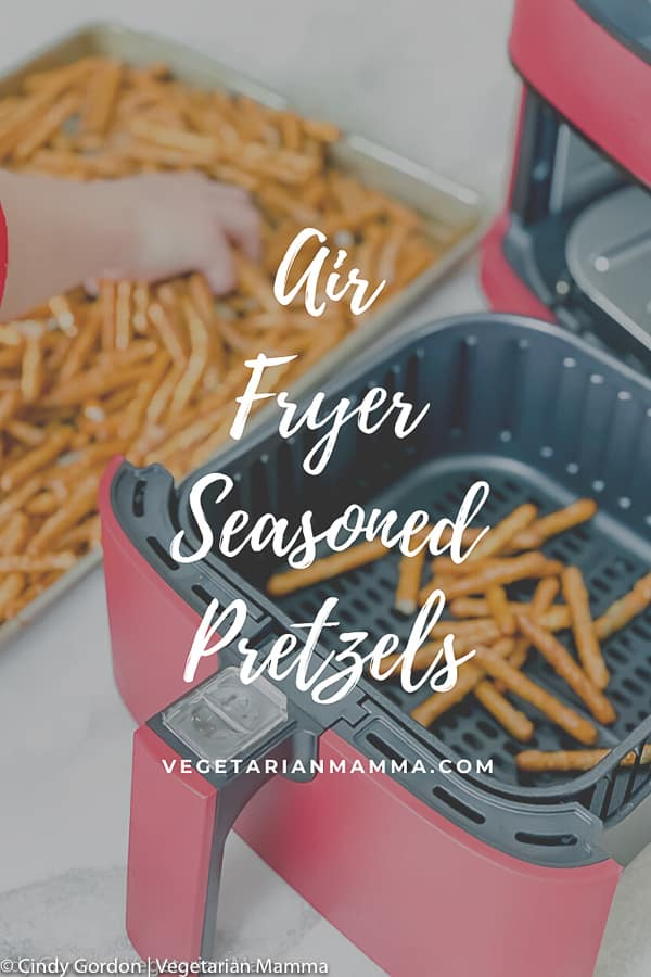 Air Fryer Seasoned Pretzels pin