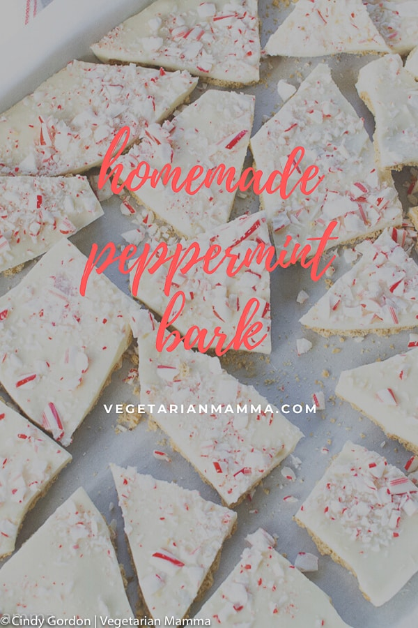 peppermint bark pin